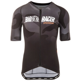 Bioracer Spitfire Maillot manches courtes Homme, grey-camo